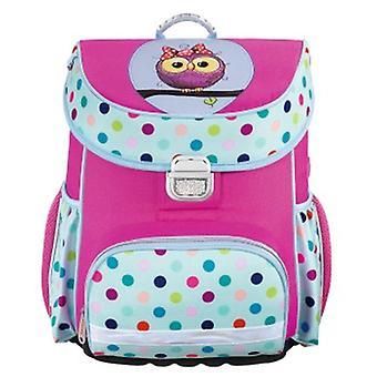 HAMA Sweet Owl et Lovely Girl Children's Backpack Toddler Kids School Bag Animal Design Kinder Racksack pour 2-6 ans (Owl)