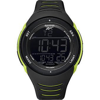 Reebok RD-VER-G9-PBPB-BY Vertex Warrior Black Lime Green Sports Watch