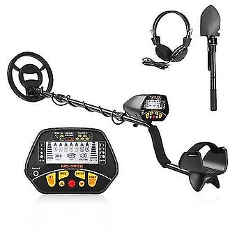 Metal Detector Underground Gold Finder Treasure Hunter with LCD Display Gold Digger with Headphone