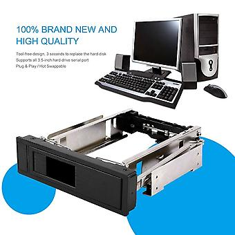 Sata Hdd-rom Hot Swap Internal Enclosure Mobile Rack For 3.5 Inch Hdd