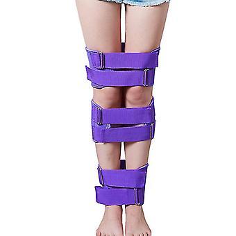 Ceintures de correction des jambes Jambes Redresseurs Sangles Posture Correcteur Bande Professionnel(Purlpe)