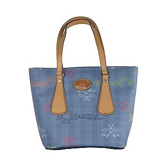 Navy blue shopping bag
