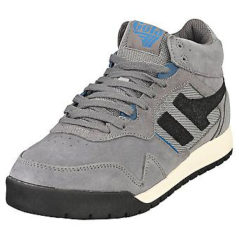 Gola Summit High Mens Casual Boots in Shadow Black