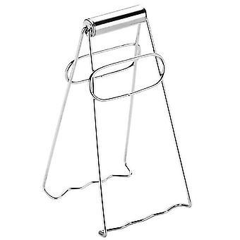 2Pcs Foldable Hot Bowl Clip Pot Bowl Clip Stainless Steel Anti-scalding Clip Hand Steamer Pliers