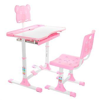 Lasten työpöytä ja tuolisetti