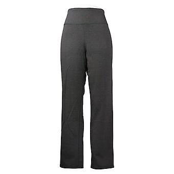 Vrouwen met controle vrouwen lange broek omkeerbaar slank grijs A390045
