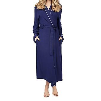 Cyberjammies Ellie 4961 Robe de chambre modale bleu marine pour femmes