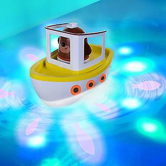 يا دوغي Lightshow نهر تحت الماء عرض حمام ية