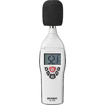 VOLTCRAFT Misuratore livello audio SL-200 30 - 130 dB 31,5 Hz - 8 kHz