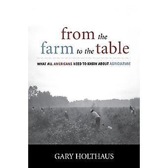 Fra gården til bordet - Hva alle amerikanere trenger å vite om Agr