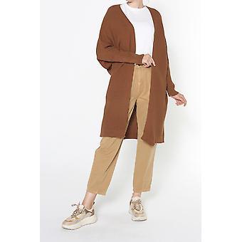 T Sleeve Knitwear Cardigan