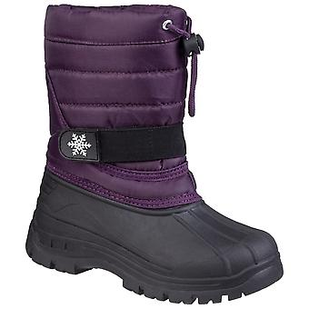 Cotswold kid's cicle toggle lace snow boot various colours 27184