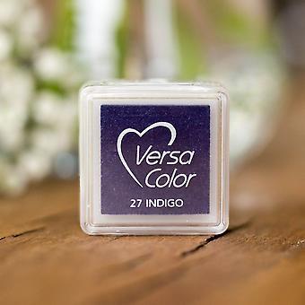 Versasmall Indigo Pigment Liten Blekk Pad - Blå Pigment Blekk -Craft Blekk