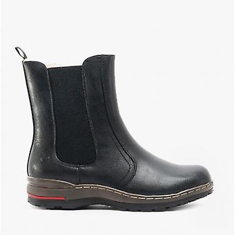 Heavenly Feet Nevada Ladies Chelsea Boots Black