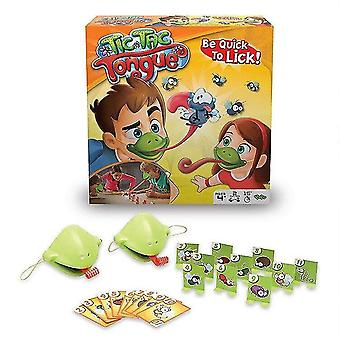 Pretend professions role playing gluttonous chameleon lizard fast tongue funny blowing roll table game|gags practical jokes