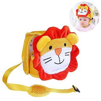 Baby sikkerhedshjelm, spædbarn hoved beskytter åndbar justerbar cap
