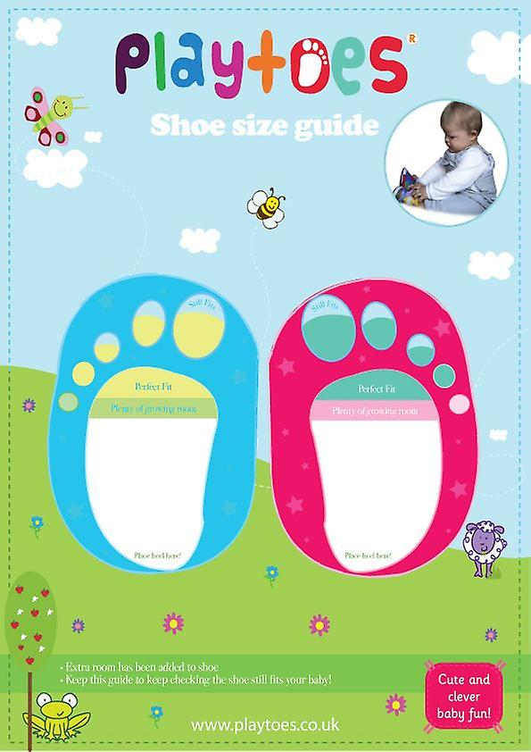 Playtoes Bumble Bee Blue Baby Shoes 3m+