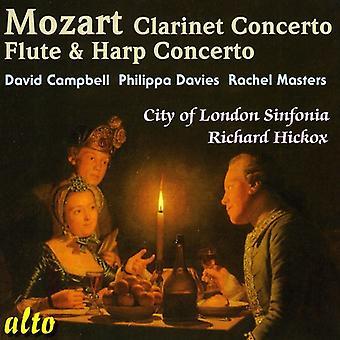 W.a. Mozart - Mozart: Clarinet Concerto; Flute & Harp Concerto [CD] USA import