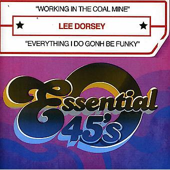 Lee Dorsey - Working in the Coal Mine/Everything I Do Gonh Be F [CD] USA import