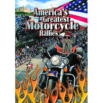America's Greatest Motorcycle Rallies [DVD] USA import