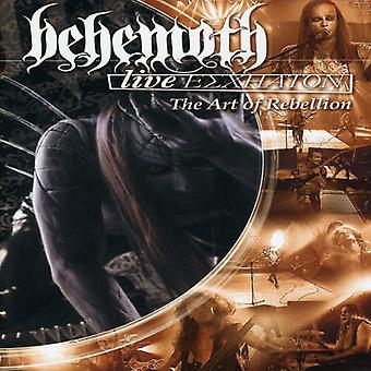 Behemoth - levande Eschaton-konst av uppror [DVD] USA import