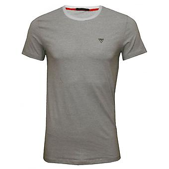 Antar att fina Stripe Crew-Neck T-Shirt i stretchig bomull, svart