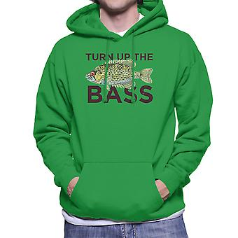 Turn Up The Bass Men's Hooded Sweatshirt