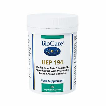 Biocare HEP 194 (liver support with apple extract), 60 vegi capsules