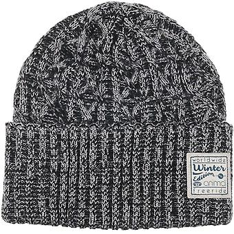 Animal Blanche Beanie in Iced Purple