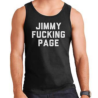 Jimmy kurwa Strona męska kamizelka