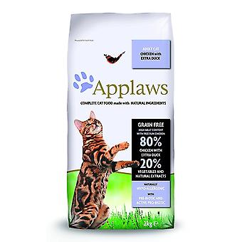 Applaws a secco gatto cibo Adult pollo e anatra, 2kg