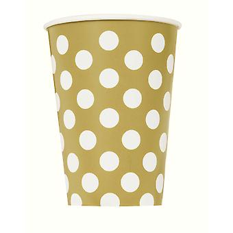 Gold Dot Tassen 9â€