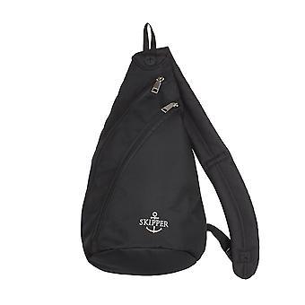 Skipper Reisezubehör Daypack Body Bag Schulterrucksack Schwarz 6910
