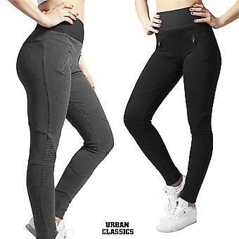 Urban Classics Damen Leggings Interlock High Waist