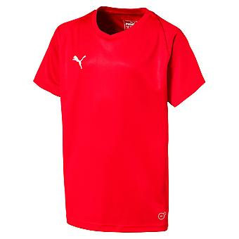 Manches courtes junior PUMA-maillot de la Ligue-core