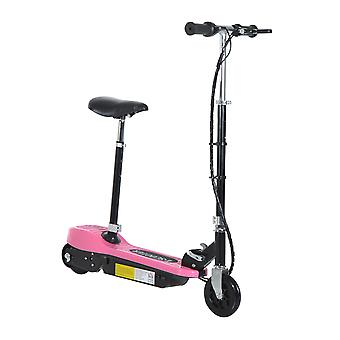 Homcom Kids Foldable E-Scooter Adjustable Ride on 2 x 12V Rechargeable Battery