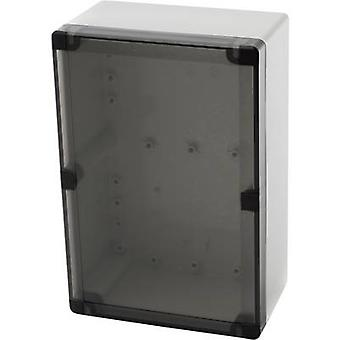 Fibox PCTQ3 162409 Carcasa de montaje en pared, soporte de montaje 244 x 164 x 90 Policarbonato (PC) Gris-blanco (RAL 7035) 1 ud(s)