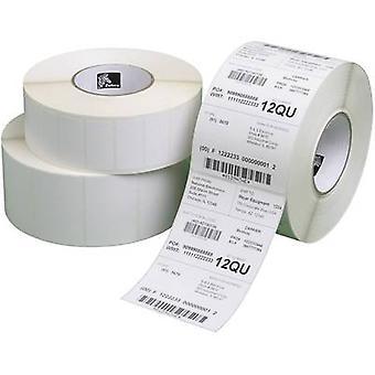Zebra etiketten rulle 102 x 102 mm direkte varmeoverføring papir hvit 8400 eller flere PCer Permanent 800264-405 Universal etiketter