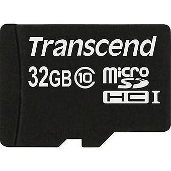 Transcend Premium microSDHC-kort 32 GB klass 10
