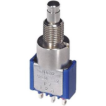 APEM 8642A tryckknapp 250 V AC 3 A 2 x On/(On) momentan 1 dator
