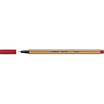 Stabilo 88/40 STABILO point 88 Fineliner Red 0.4 mm 1 pc(s)