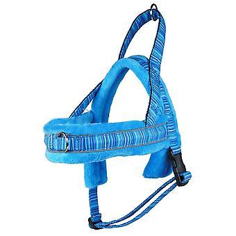 MNC Pet S4 Padded Harness for Dogs Soft Fleece Padding, Blue