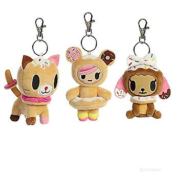 Donutella and her sweet friends Plush Clip-on Collectible series 1 single random bag