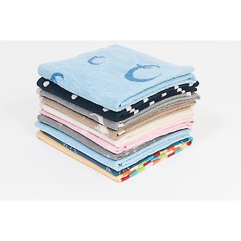 Hippychick Cotton Fleece Baby Cot Blanket