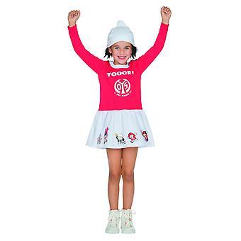1. FSV Mainz 05 Moguntiacum fan jente barna Jersey girl kostyme Carnival fotball fan artikler