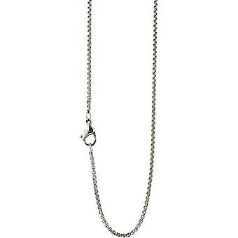 Ti2 Titanium Extra Fine Venetian Inka Chain - Silver