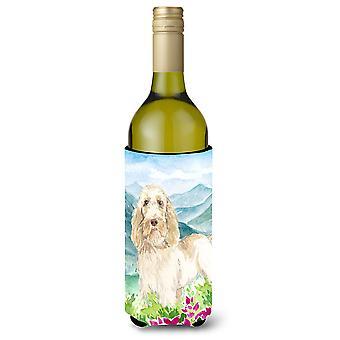 الزهور مونتيان Italiano سبينوني زجاجة النبيذ المشروبات عازل نعالها