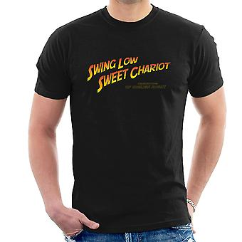 Indiana Jones Swing låg Sweet Chariot Rugby mäns T-Shirt
