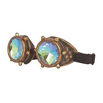 Occhiali Steampunk caleidoscopio