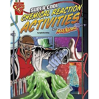 Super Cool kemisk reaktion aktiviteter med Max Axiom (Max Axiom Science and Engineering aktiviteter)